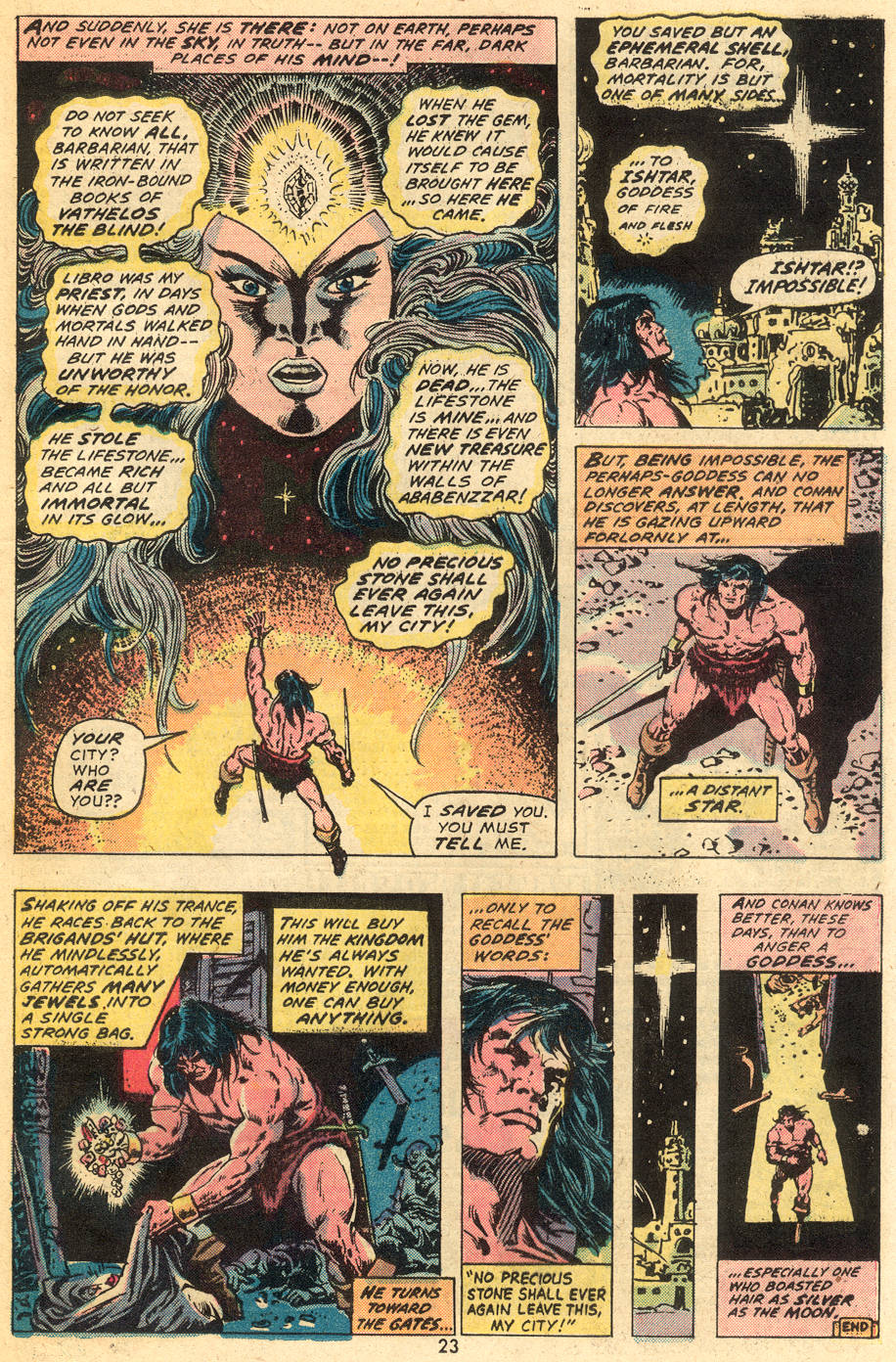 Conan the Barbarian (1970) Issue #40 #52 - English 16
