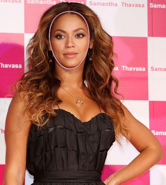 Beyonce Face Shape