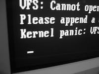 Kernel panic - imagem ilustrativa