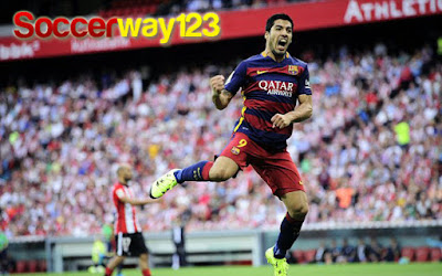Cuplikan Gol Luis Suarez