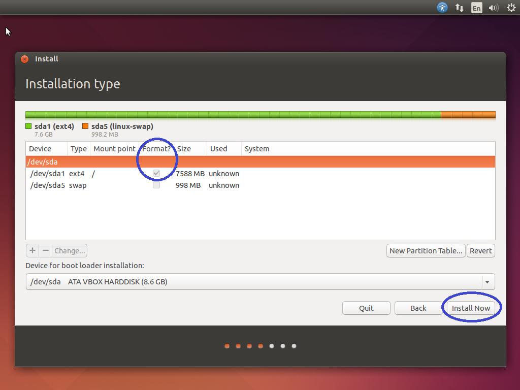 Cara Membagi Partisi Pada Sistem Operasi Linux Ubuntu