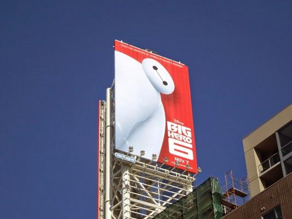 Big Hero 6 movie billboard