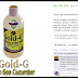 GOLD-G Sea Cucumber Jelly    Herbal Alami Multi Khasiat