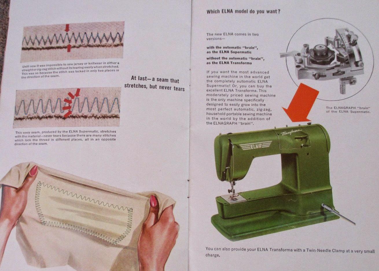 elna sewing machine accessories