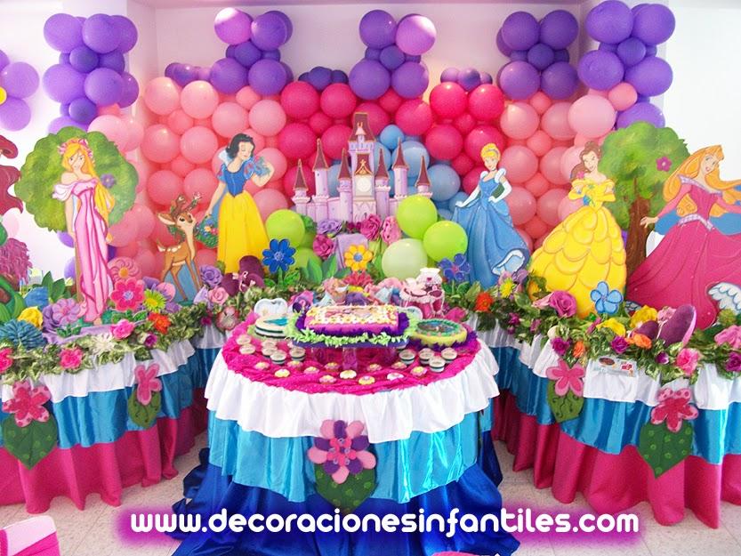 Fiestas infantiles imagui - Fiestas infantiles princesas disney ...