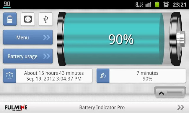 Download Battery Indicator Pro v2.4.4 Paid Apk For Android