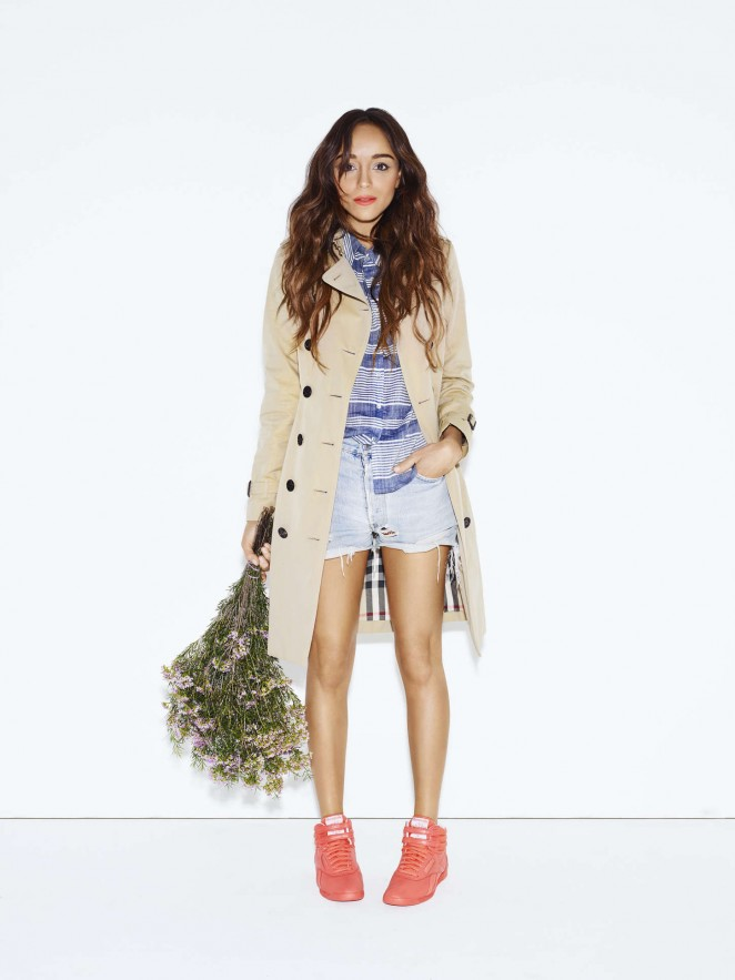 Reebok Classic x FACE 2015 Campaign featuring Ashley Madekwe