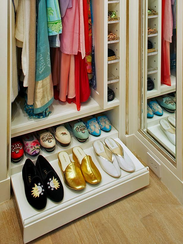 homemade shoe rack drawer
