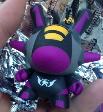 Kidrobot x Transformers Skywarp Inspired Flight 3″ Dunny Purple Chase by kaNO