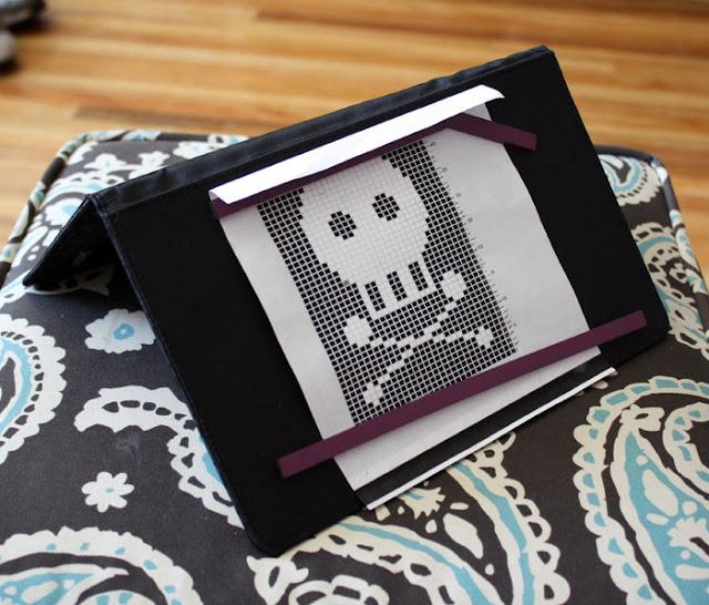 Knitting Pattern Keeper : Vegan Craftastic: Knit Picks Chart Keeper - A Review