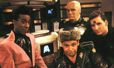 Red Dwarf Rimmer Lister Kryten Cat top ten