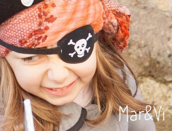 Parche pirata para imprimir