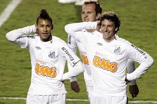 Con 8 goles el Santos venció al Bolívar y se clasificó a cuartos de final en la Copa Libertadores