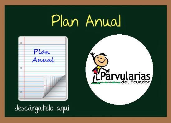Plan anual parvularias del ecuador for Planificacion de educacion inicial