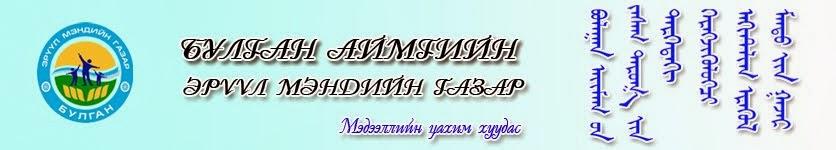 Булган аймгийн Эрүүл мэндийн газар