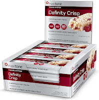 Definity crisp protein bars for women