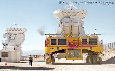 Teleskop Berteknologi Tinggi 2013