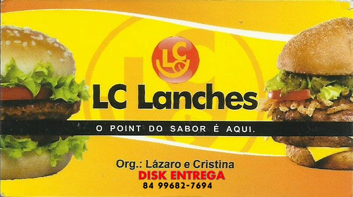 LC LANCHES DISK ENTREGA 99682-7694