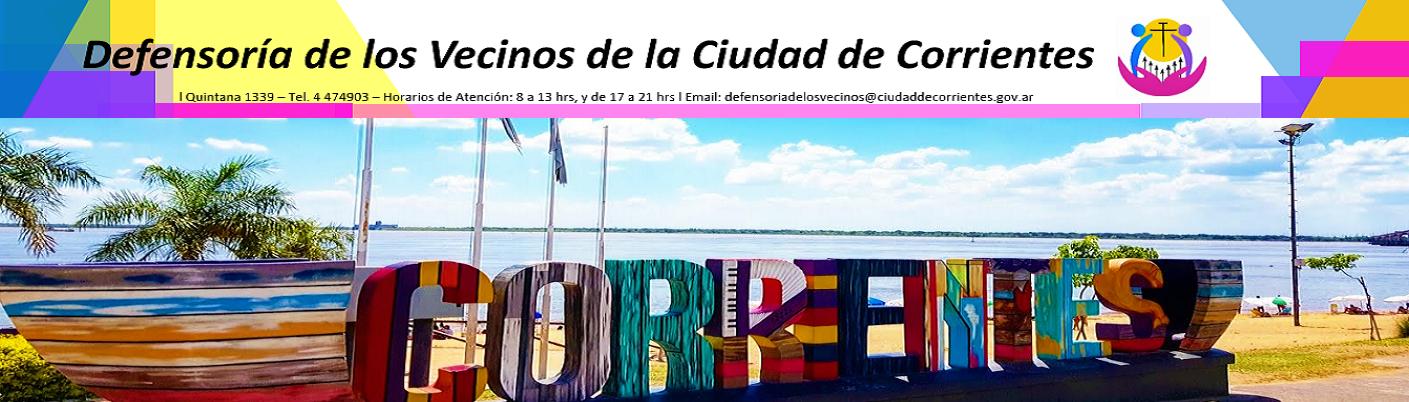 Defensoría de los Vecinos de la Ciudad de Corrientes  - Sitio Oficial