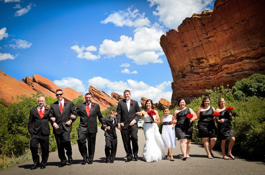 Red Rocks COlorado wedding