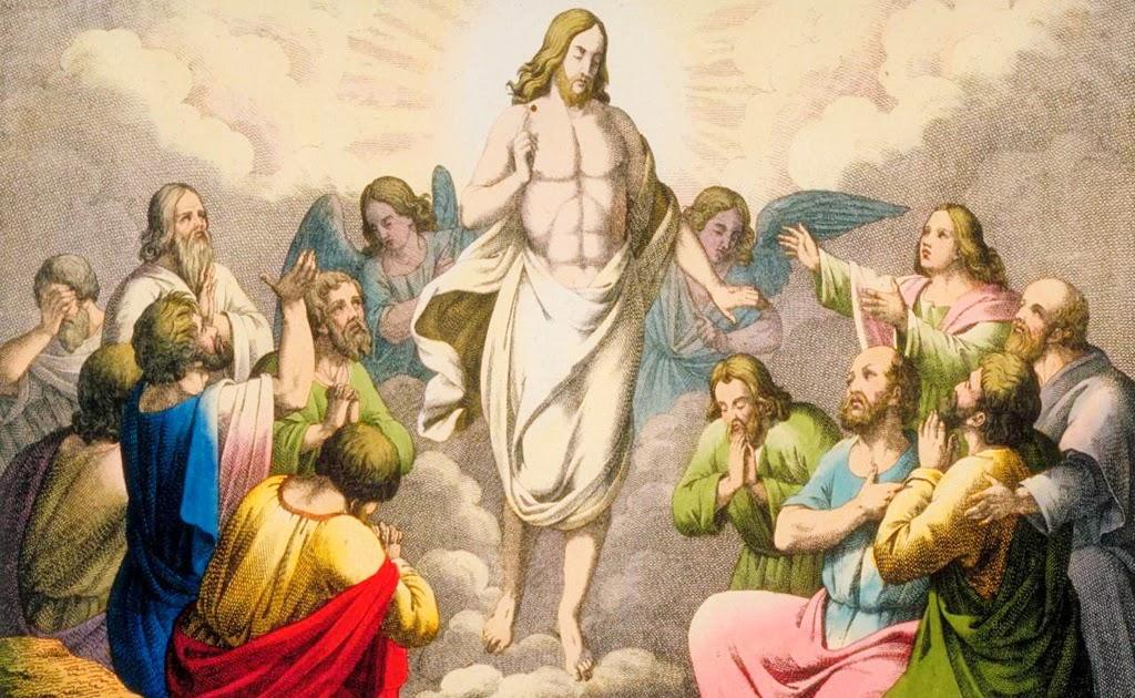 Jesus Christ Ascension Into Heaven