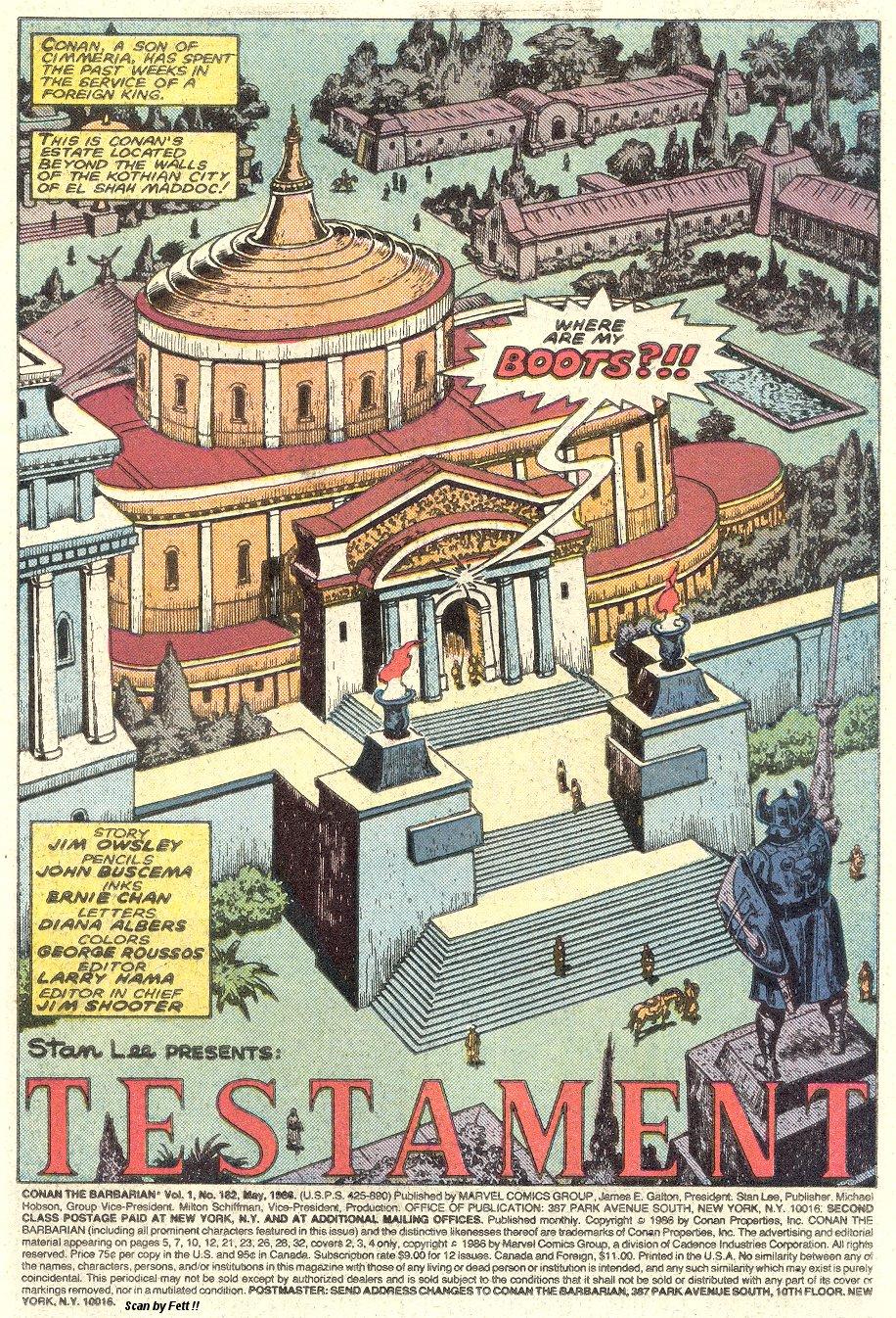 Conan the Barbarian (1970) Issue #182 #194 - English 2