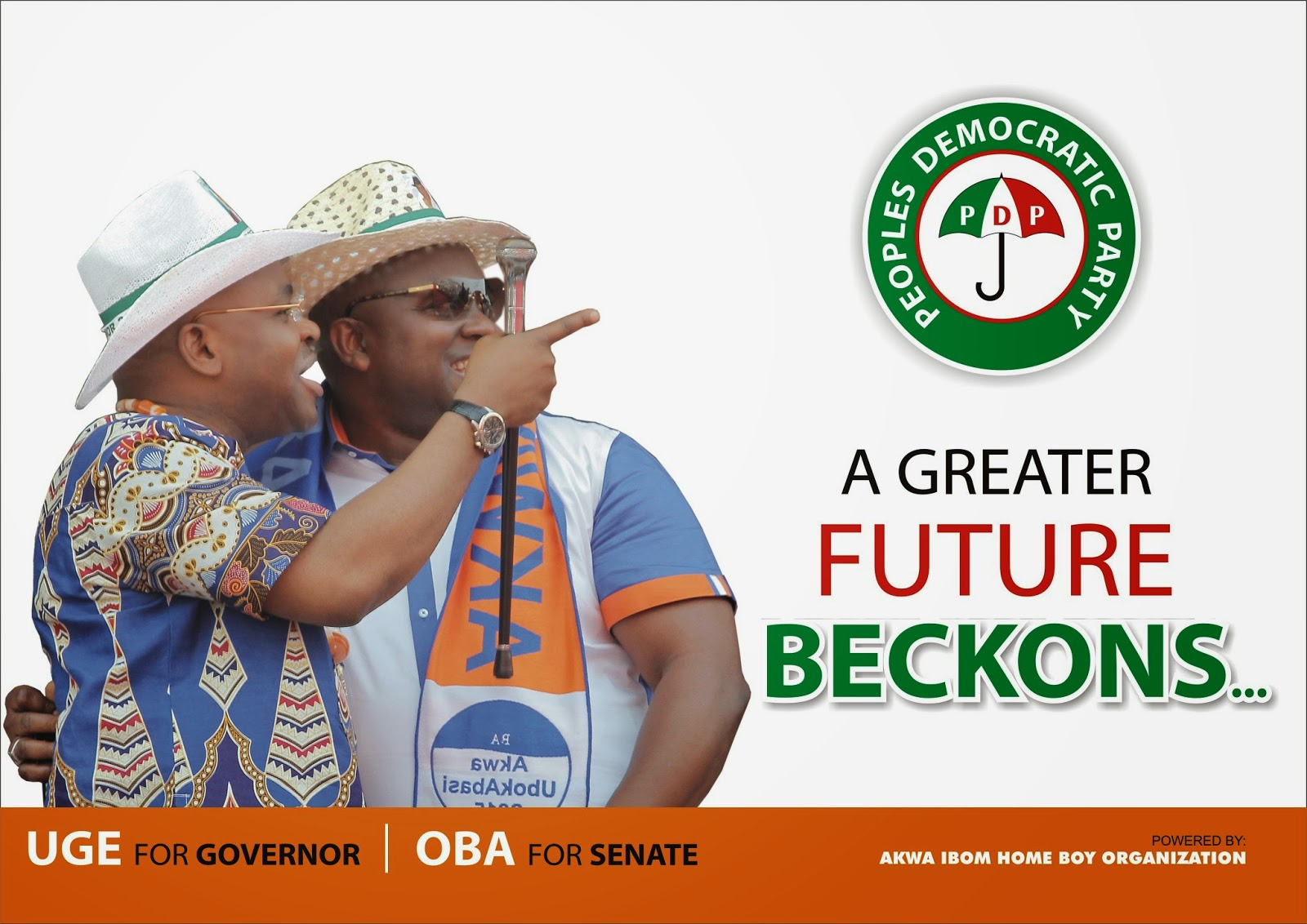 A greater future Beckons