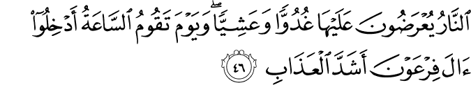 Surat Al Mu'min Ayat 46