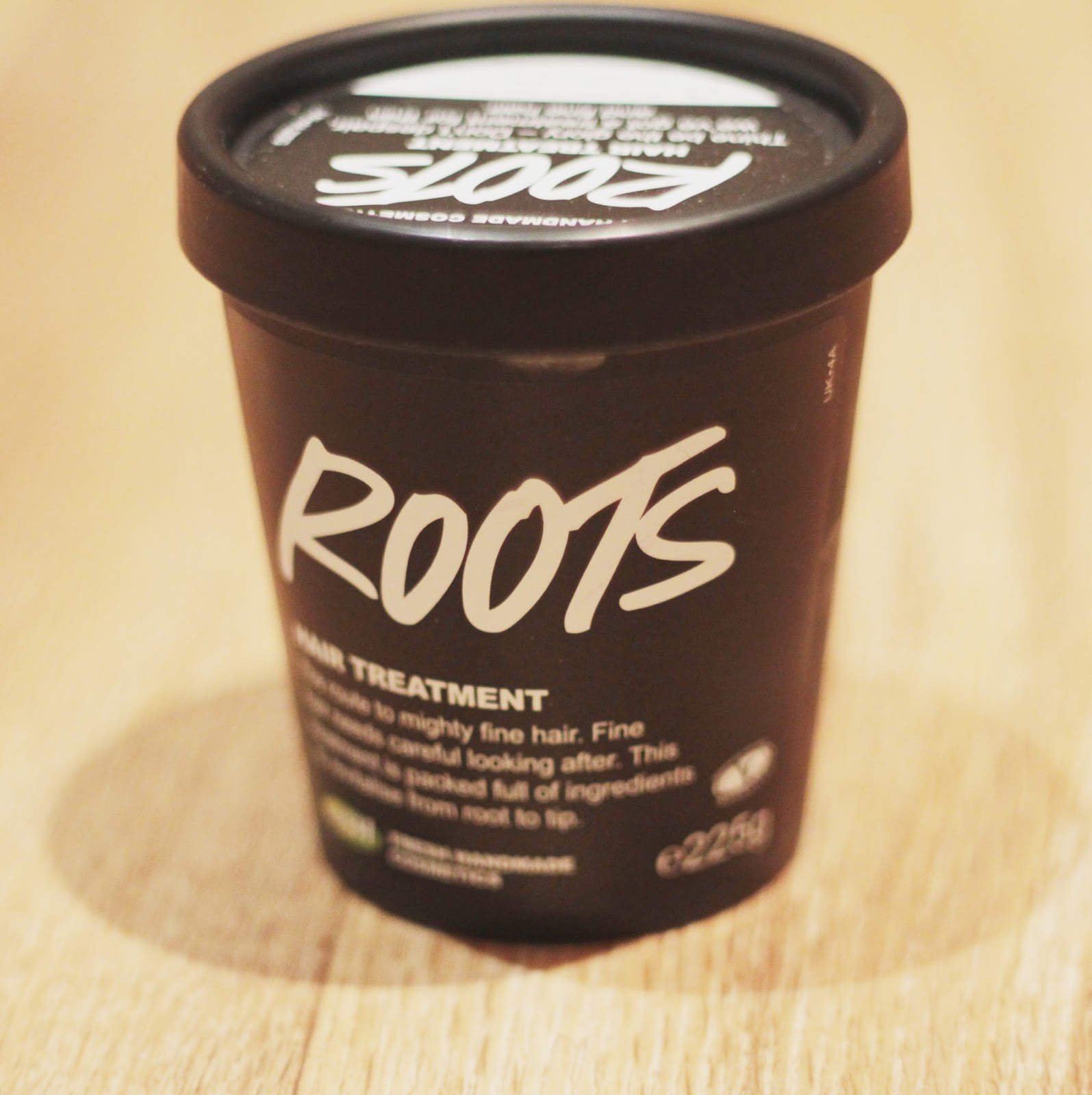 Lush ROOTS hair scalp treatment product outer