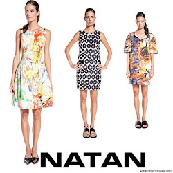 Queen Maxima Style NATAN Dress and NATAN Sandals