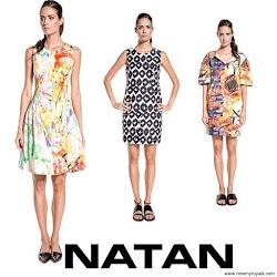 Queen Maxima Style NATAN Dress and NATAN Sandals