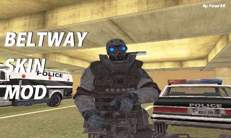 gta swat police skin