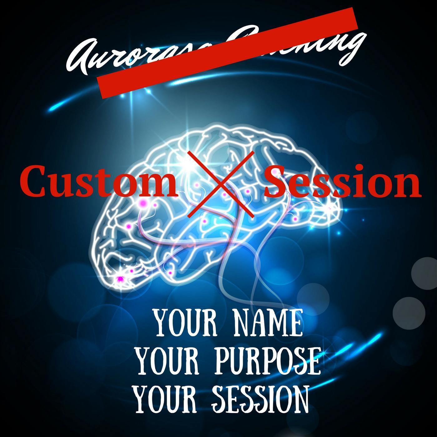 YOUR custom brain entrainment session