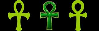 Ankh símbolo egipcio inmortalidad