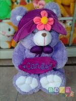 Boneka Bear Candy Topi