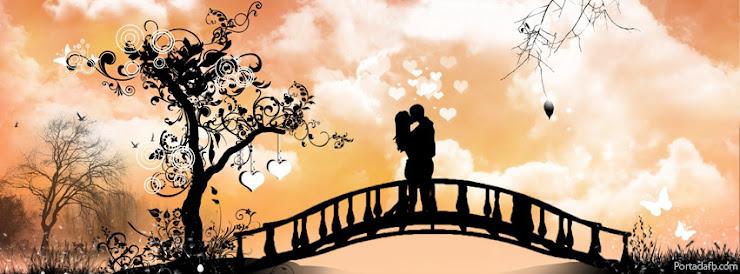 novios besándose, portada para facebook, amor apacionado