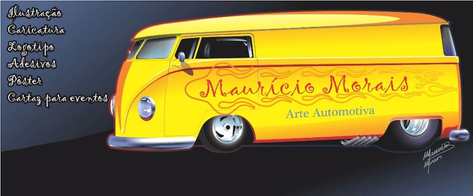 Maurcio Morais - arte automotiva, pster, pintura digital.