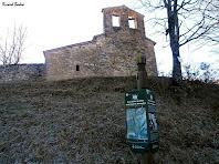 La façana occidental amb el campanar d'espadanya de dos ulls. Autor: Ricard Badia