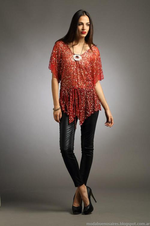 Sathya moda invierno 2013 coleccion.