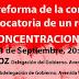Concentraciones en Extremadura contra la reforma de la Constitución
