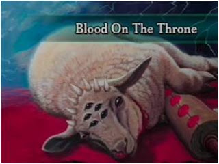 blood of the LAMB JESUS CHRIST on the throne -voice of youth