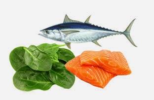 gambar makanan yang mengandung omega-3