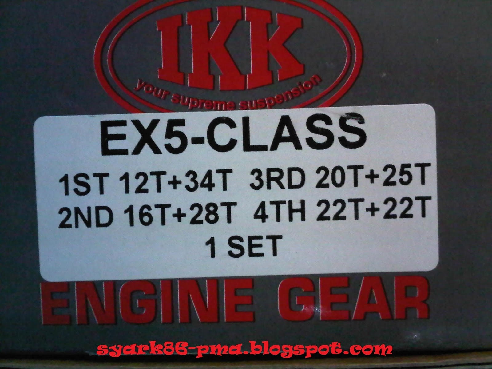 New Ikk Racing Gearbox For Honda High Power Dream Class