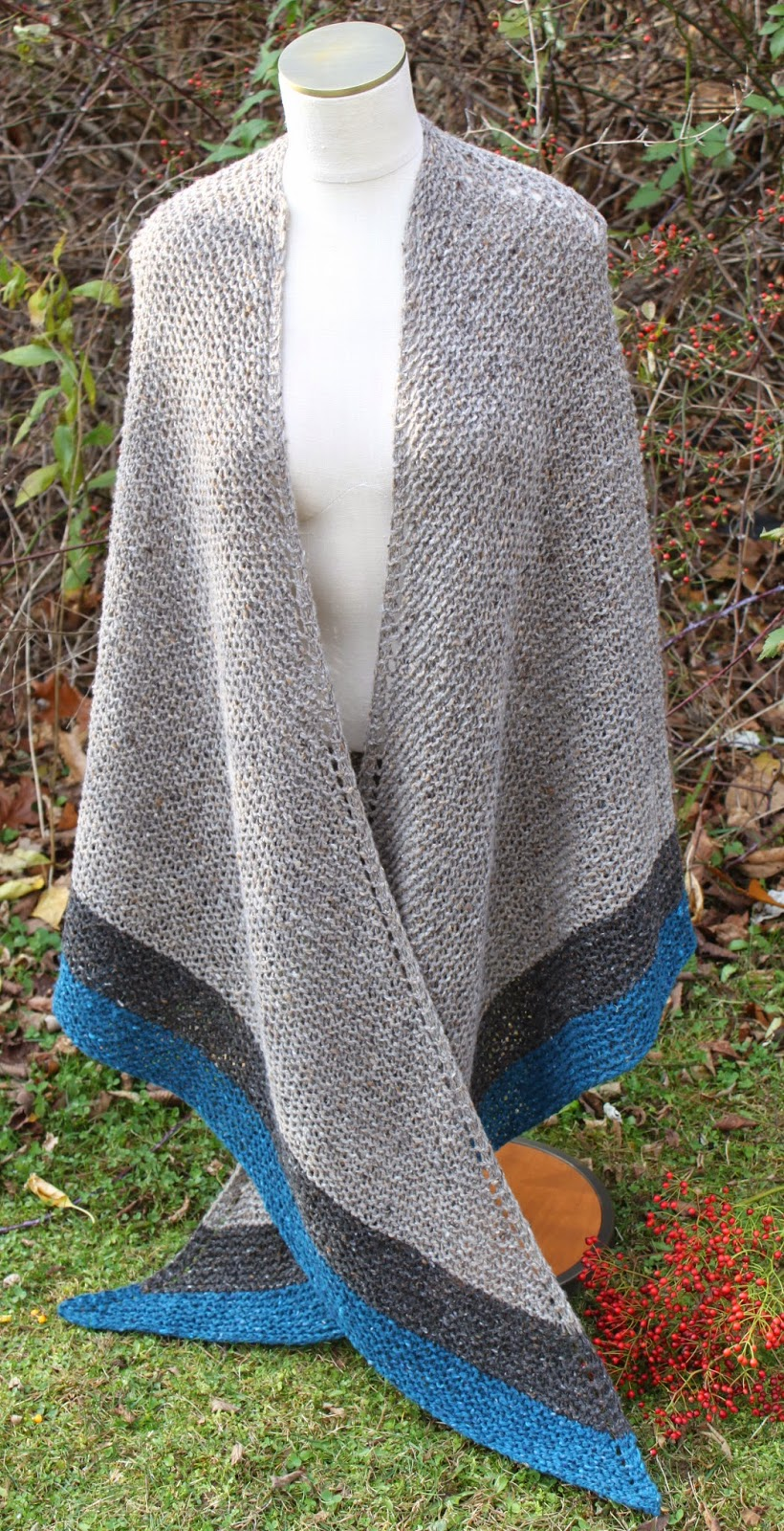 Celtic Heart Knitting and Quilting: Outlander Claire Rent Shawl
