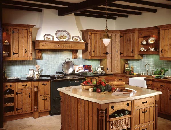 decoracao de interiores cozinha rustica:Country Kitchen Decorating Ideas