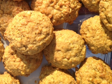 The Foodie RD: Pumpkin Oatmeal Cookies
