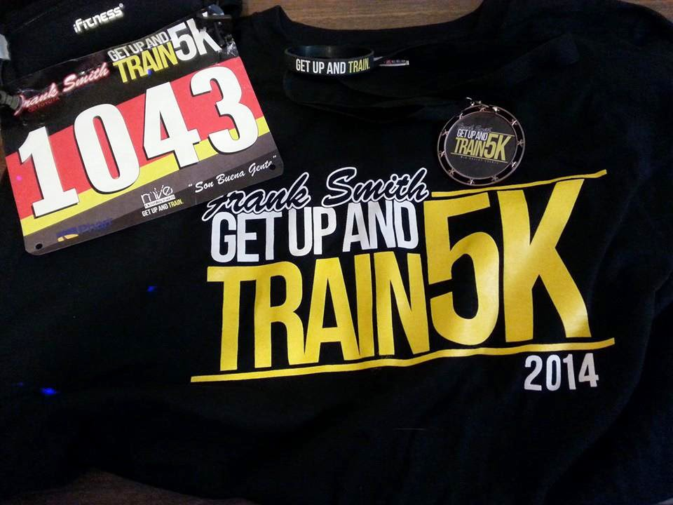 Get Up and Train 5K - DONE!