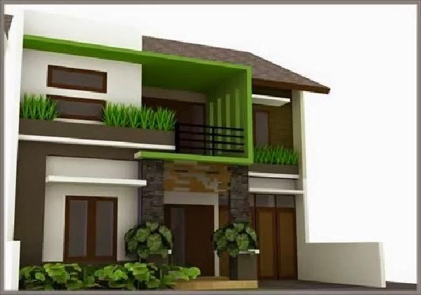 model rumah minimalis perkotaan 1
