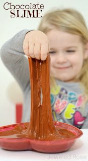 What could be more fun than super FUN, ultra OOZY chocolate slime?  In the eyes of my littles not much!