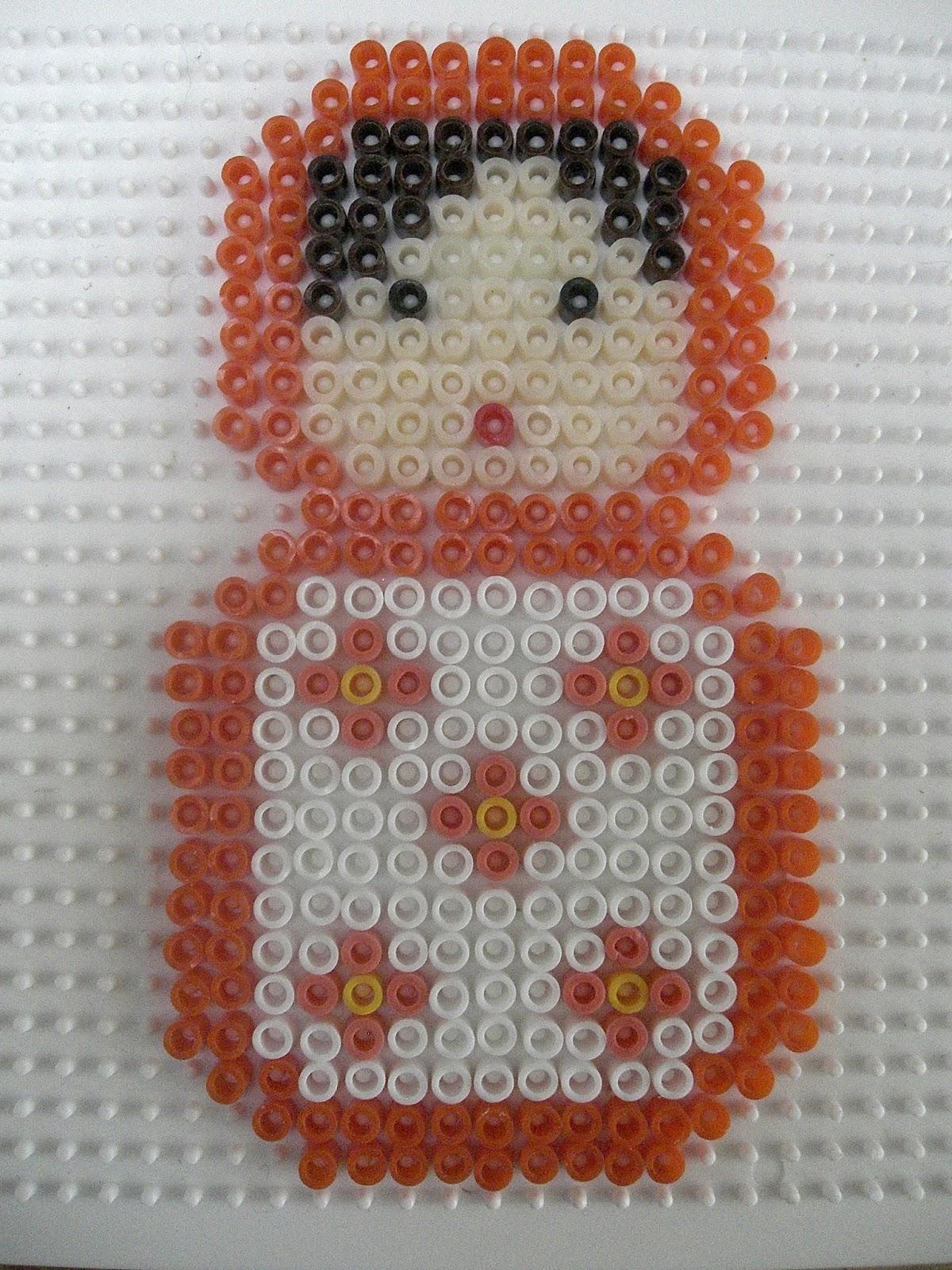 Gabulle in wonderland poup es russes en perles hama - Perles a repasser modeles gratuit ...